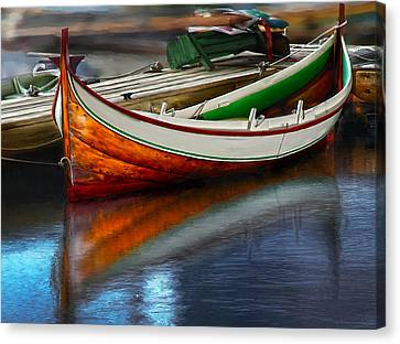 Boat Canvas Print by Rick Mosher
