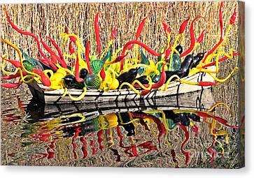 Arizonia Canvas Print - Boatful Of Art by Elizabeth Winter