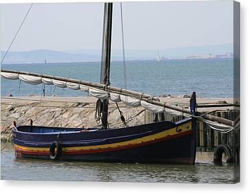 Boat At St Marie Canvas Print