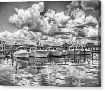 Boats Canvas Print by Howard Salmon