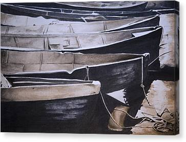 Boats Canvas Print