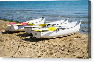 Boats Canvas Print by Milena Ilieva