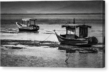 Boats Of Trinidad Canvas Print