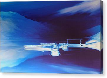 Boats On Bala Canvas Print