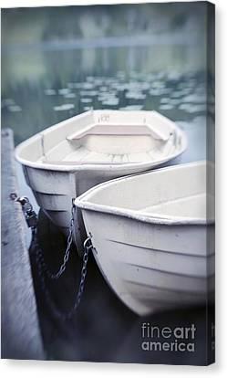 Boats Canvas Print by Priska Wettstein