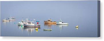 Canvas Print featuring the photograph Boats  by Trace Kittrell