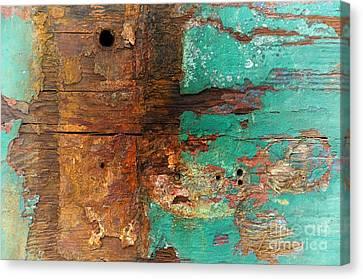 Boatyard Abstract 6 Canvas Print
