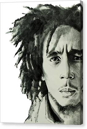 Bob Marley 6 Canvas Print by Bekim Art
