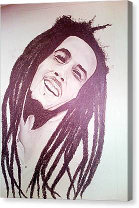 Bob Marley Canvas Print by Aileen Carruthers