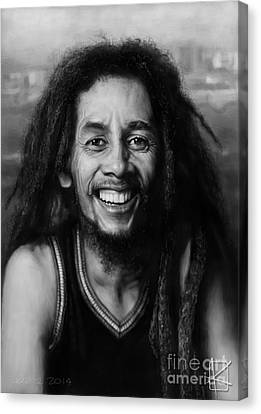 Bob Marley Canvas Print by Andre Koekemoer
