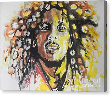 Bob Marley 02 Canvas Print by Chrisann Ellis