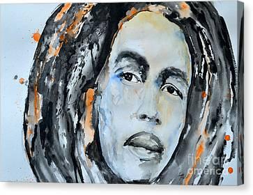 Bob Marley Canvas Print by Ismeta Gruenwald