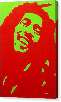 Warhol Canvas Print - Bob Marley by John  Nolan