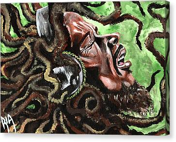 Classic Canvas Print - Bob Marley by RiA RiA
