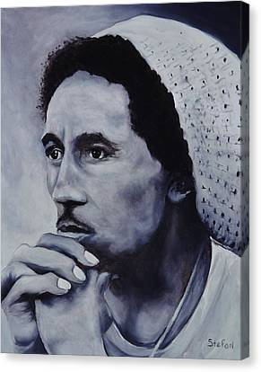 Bob Marley Canvas Print by Stefon Marc Brown
