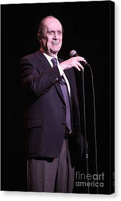 Bob Newhart Canvas Print by Concert Photos
