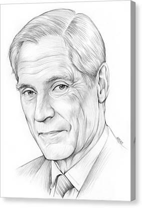 Bob Simon Canvas Print by Greg Joens