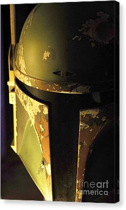 Science Fiction Canvas Print - Boba Fett Helmet 124 by Micah May