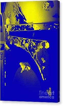 Boba Fett Helmet 5 Canvas Print by Micah May