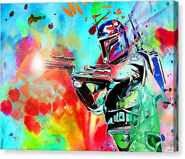 Boba Fett Star Wars Canvas Print