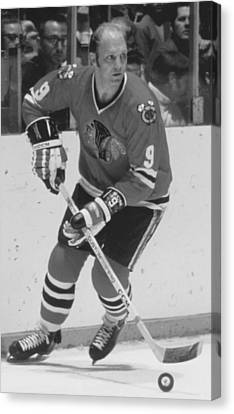 Bobby Hull Poster Canvas Print by Gianfranco Weiss
