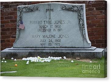 Bobby Jones - The Master Canvas Print