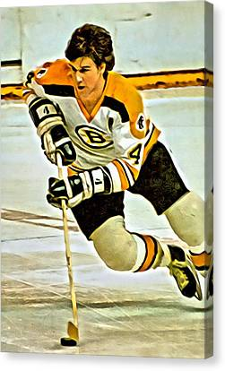 National League Canvas Print - Bobby Orr by Florian Rodarte