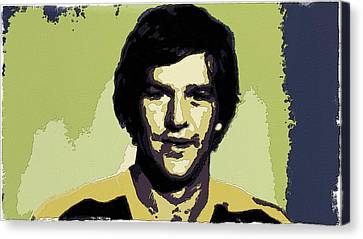 Bobby Orr Poster Art Canvas Print