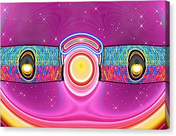 Bobby Takes A Dream Flight Canvas Print by Wendy J St Christopher