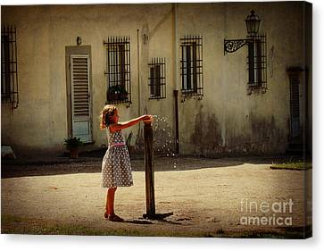 Boboli Bubbler Canvas Print