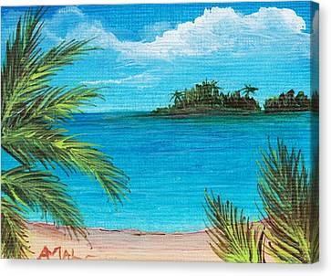 Boca Chica Beach Canvas Print by Anastasiya Malakhova
