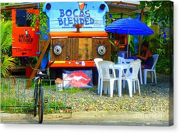 Bocas Blended Canvas Print by Kris Hiemstra