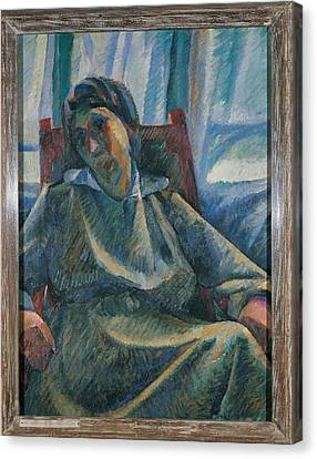 Boccioni Umberto, The Mother, 1912 Canvas Print by Everett