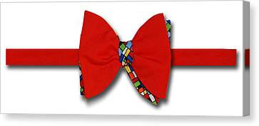 Bodacious Bow-tie Canvas Print
