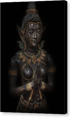 Bodhisattva Princess Canvas Print by Daniel Hagerman