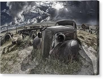 Bodie - Car Canvas Print by Igor Baranov