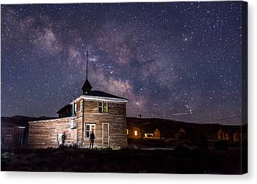 Bodie At Night Canvas Print