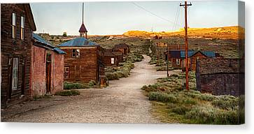 Bodie California Canvas Print by Cat Connor