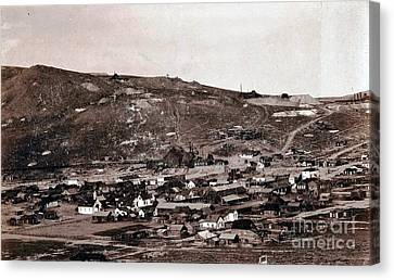 Bodie California - Ghost Town  Canvas Print by Pg Reproductions
