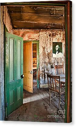 Bodie Doors Canvas Print by Alice Cahill