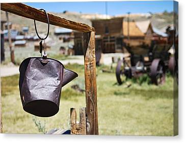 Bodie Ghost Town 2 - Old West Canvas Print by Shane Kelly