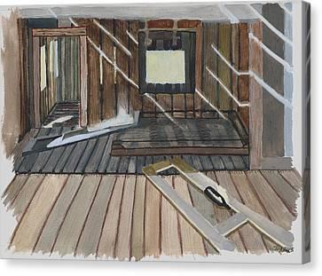 Bodie House Canvas Print