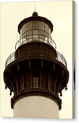 Canvas Print featuring the photograph Bodie Island Light Iv by Kelly Nowak