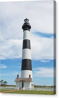 Bodie Island Lighthouse - Outer Banks Canvas Print by Kay Pickens