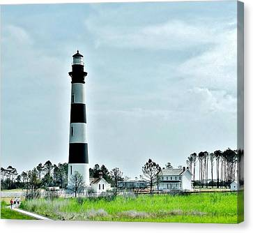 Bodie Island Lighthouse - Outer Banks North Carolina Canvas Print by Kim Bemis