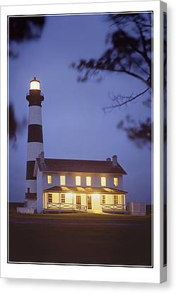 Bodie Light Just After Dark Canvas Print by Mike McGlothlen