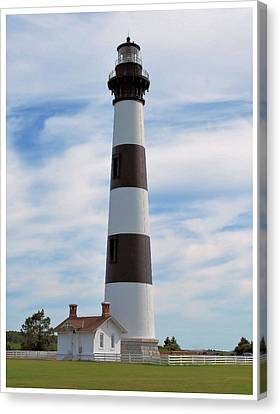 Canvas Print featuring the photograph Bodie Lighthouse by Bob Sample
