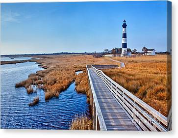 Bodie Lighthouse Outer Banks North Carolina I Canvas Print