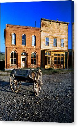Bodie Storefront Canvas Print by Joe Darin