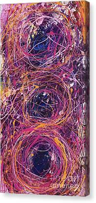 Body Mind And Spirit  Canvas Print by Kim Heil